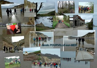 Rando pédestre à Pourville sur mer dans RANDO  ROUEN COM PENS philippe